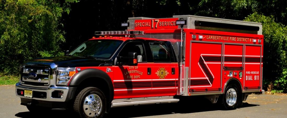 City of Lambertville Fire Department, District #1 — Lambertville, NJ